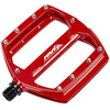 Red Cycling Products Flat Pedal Pedal AL röd